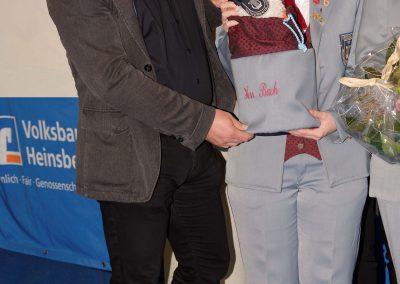 Das ist meine Ideengeberin: Ann-Sophie Schwarz und mein Namensgeber: Markus Bienwald